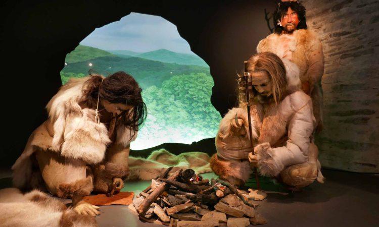 Menschen der Jungsteinzeit 5500 v. Chr.
