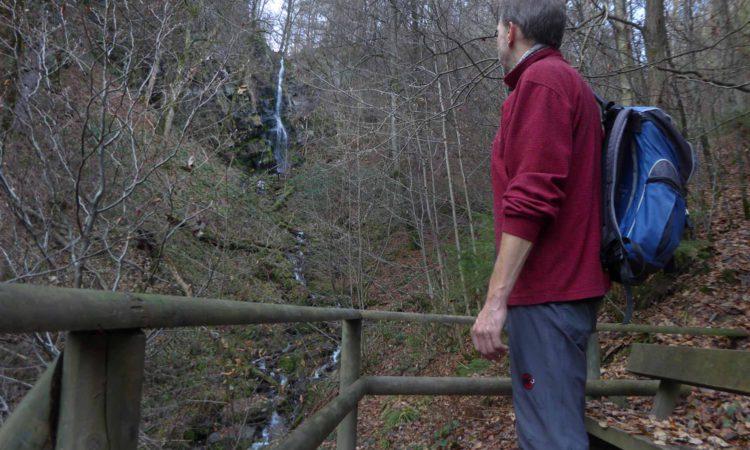 Der mit 20m höchste Wasserfall von NRW.